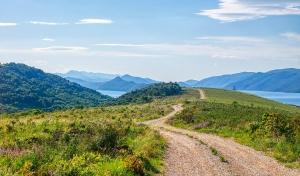 Sentier de randonnée à Komarna